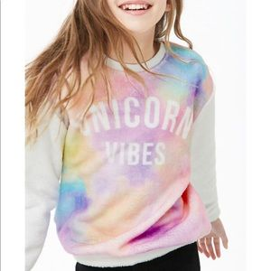 NWT! Forever 21 Kids Unicorn Vibes Sweater 🦄